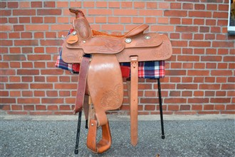 "The Thissell  Master USA Made Western Saddle Seat 16""Full size"
