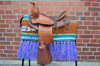 Original USA made Western Saddle Junior m.tillbehör
